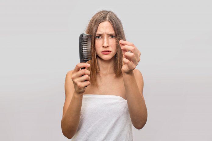 Kerontokan rambut